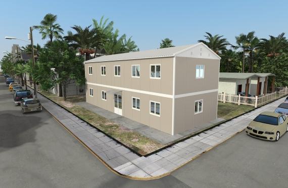 Модуларна пословна зграда 214 м²
