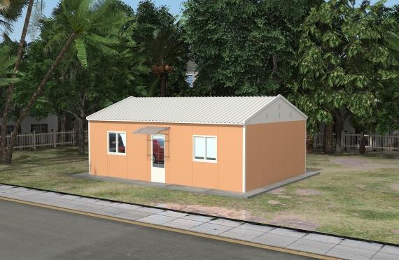 Модуларна пословна зграда 58 м²