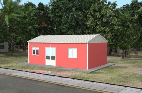 Модуларна амбуланта 46 м²