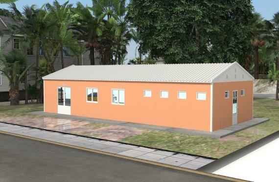 Модуларна кафетерија 98 м²