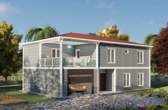 Монтажна кућа 206 м2