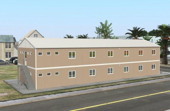Модуларна јединица за смештај 474 м²