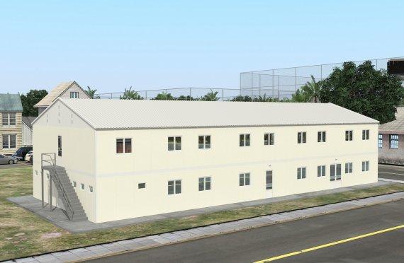 Модуларна јединица за смештај 662 м²