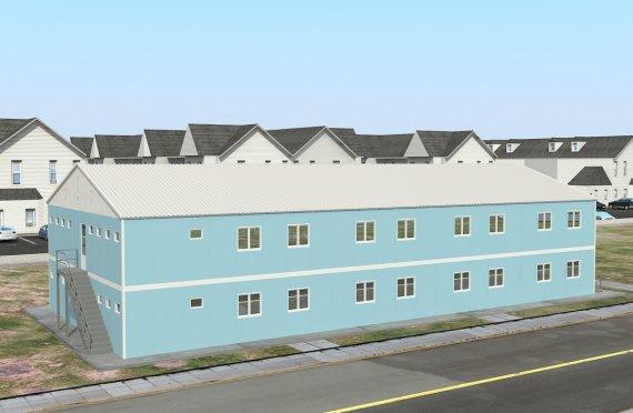 Модуларна јединица за смештај 736 м²