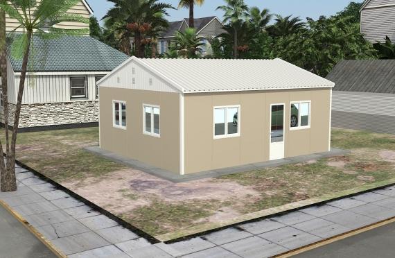 Модуларна пословна зграда 49 м²