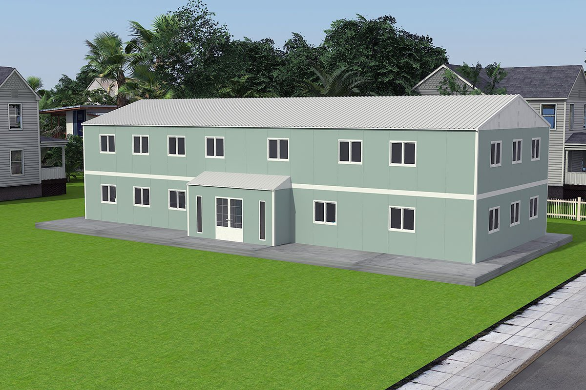 Модуларна пословна зграда 415 м²