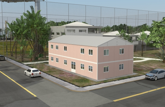 Модуларна пословна зграда 340 м²