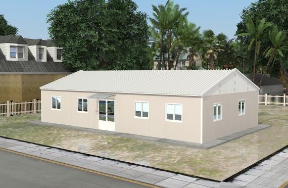 Модуларна пословна зграда 136 м²