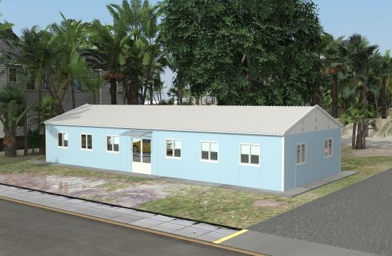 Модуларна пословна зграда 146 м²