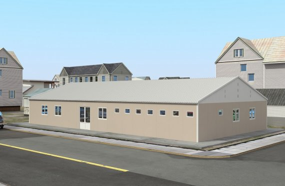 Mодуларна болница 506 м²