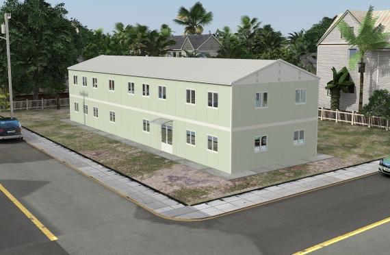 Mодуларне Kанцеларијске зграде 463м²