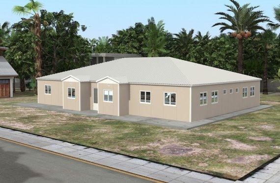 Преносна учионица 289 м²