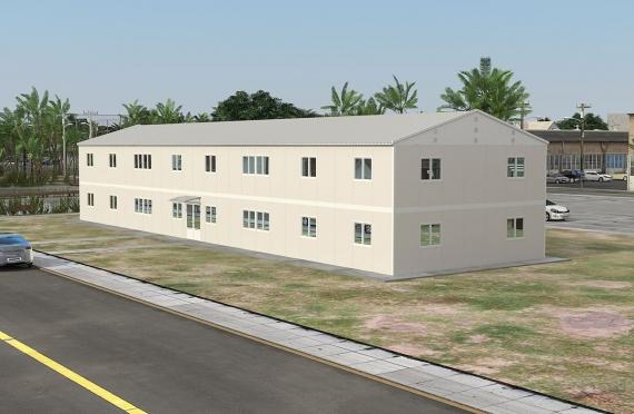 Модуларна пословна зграда 588 м²