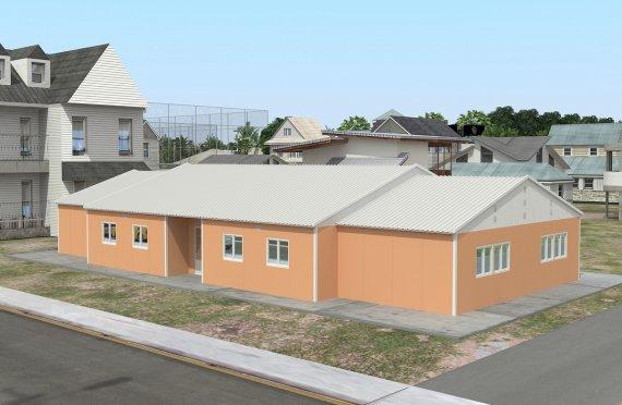 Преносна учионица 272 м²