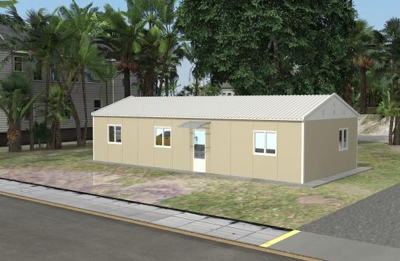 Модуларна пословна зграда 90 м²