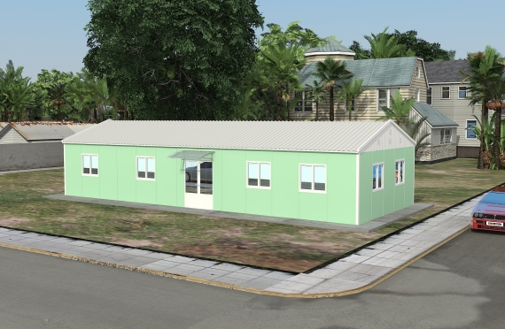 Модуларна пословна зграда 106 м²