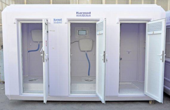 150x390 Преносива тоалетна туш кабина
