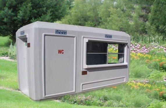 150х390 Преносни Тоалет Сигурносна кабина