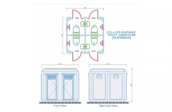 Монтажни домови 49 м²