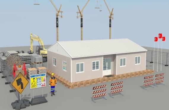 Модуларна пословна зграда 125 м²