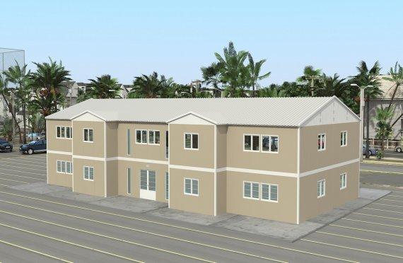 Модуларна болница 576 м²