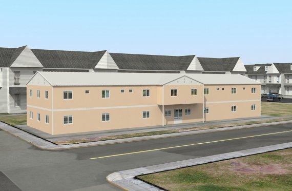 Модуларни социјални објекат 793 м²