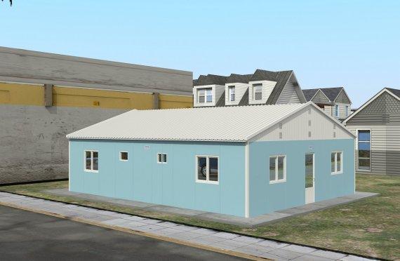 Модуларна јединица за смештај 102 м²