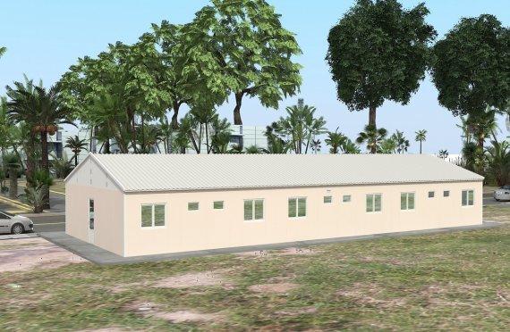 Модуларна јединица за смештај 204 м²
