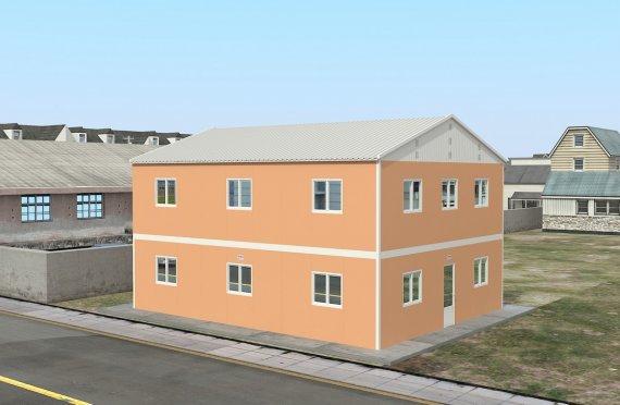 Модуларна јединица за смештај 206 м²