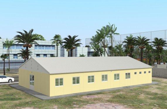 Модуларна јединица за смештај 232 м²