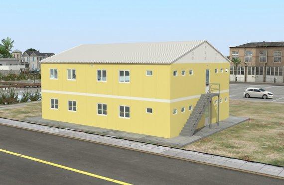 Модуларна јединица за смештај 348 м²