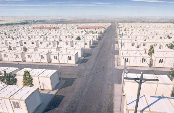 Привремени избеглички кампови