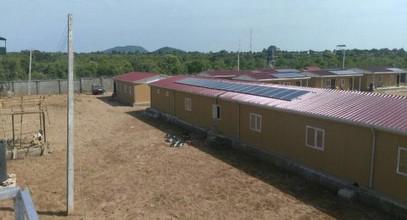 Кармод је завршио војне објекте у Нигерији
