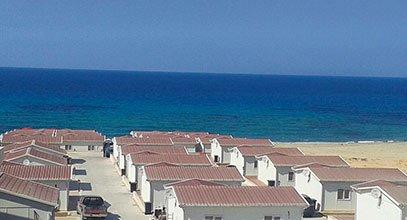 Кармод је префабриковао село за одмор у Либији