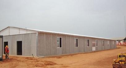 Префабрикована зграда за рад на минама у Сенегалу